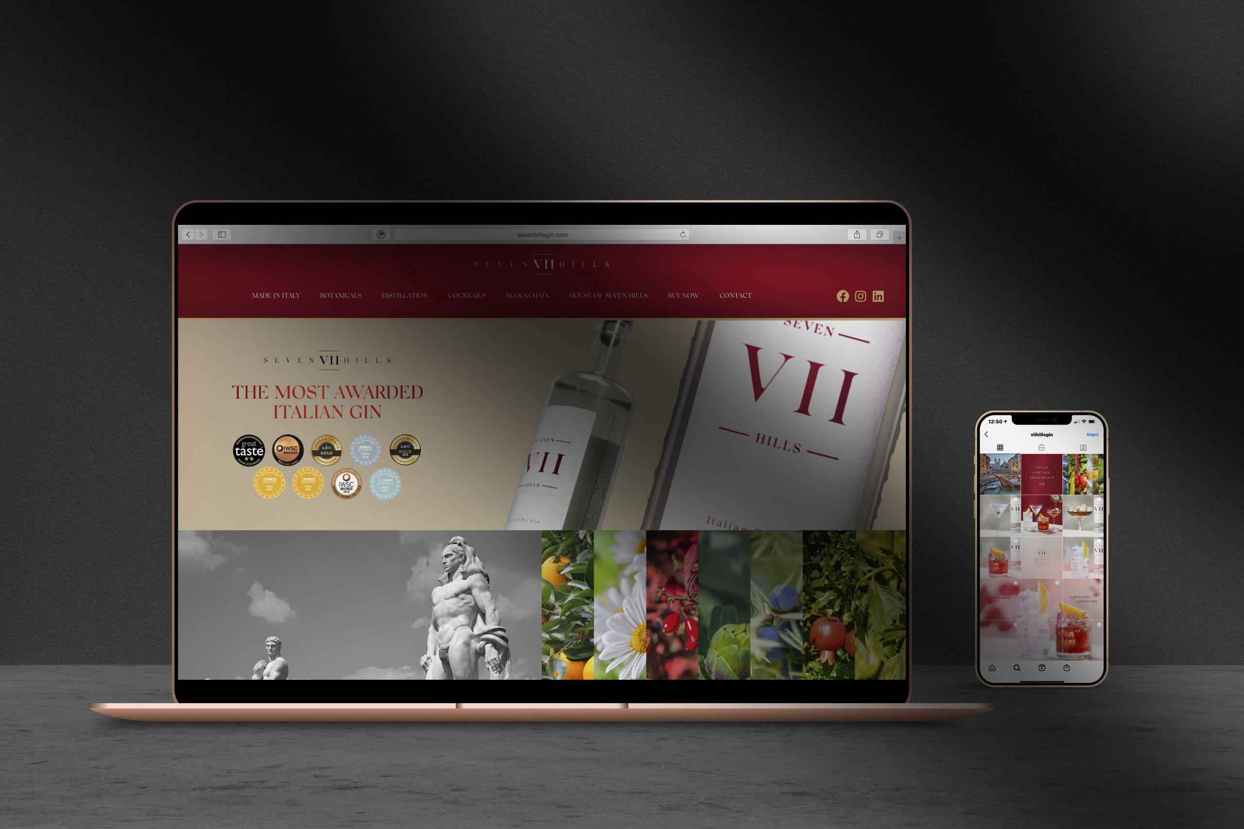 Seven Hills Gin Portfolio Do Business Italy
